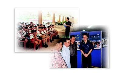 In the year 2001, almost 2,500 Scouts and Girl Guides with a similar number of NPCC cadets, participated in the scheme.