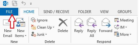 Page 9 2. Click Automatic Replies (Out of Office). 3. In the Automatic Replies dialog box, select the Send Automatic Replies check box. 4.