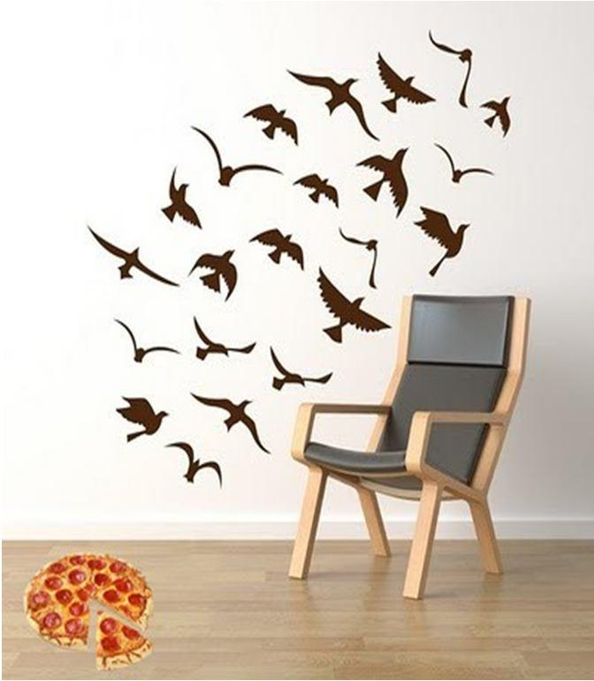 Particle Swarm Optimization (PSO) Swarm = a group of birds Particle = each bird each run in algorithm Vector = bird s position in the space Vectors we need Goal = the location of pizza Lower