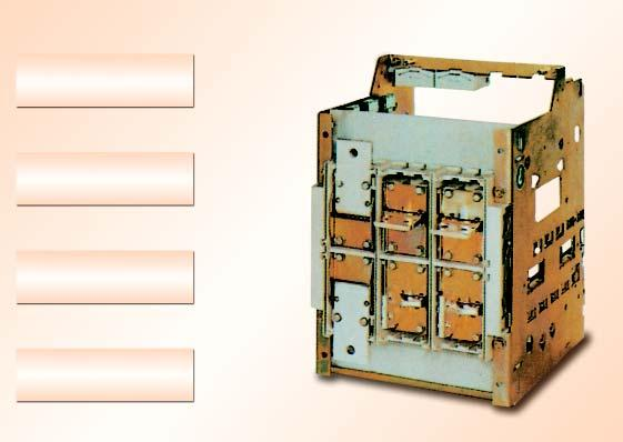 propogation in the ACB in the event of line side fault Breakers terminals are generously designed for copper and Aluminum terminations.