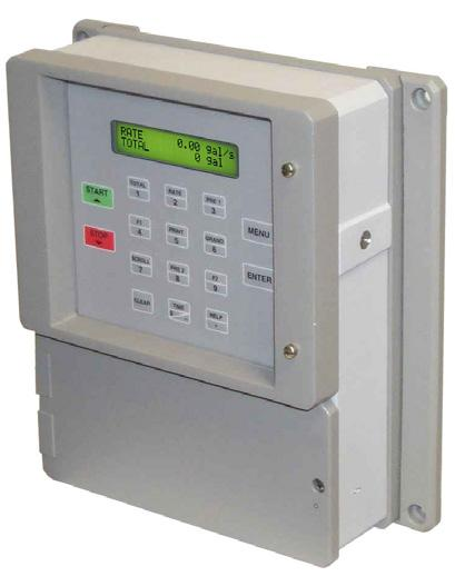 with pulse inputs All pulse producing flowmeters ES747 Batch Controller with pulse inputs and 10 Selectable Fluid Tables All pulse producing flowmeters MS716 Batch Controller with