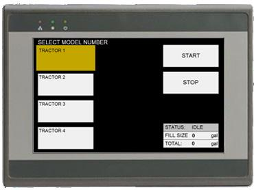 emt3070a 7 HMI Display Panel and Touch Screen Aluminum Housing and Brand-new Color & Design 800x480 TFT LCD Fan-less Cooling System Built- in 256MB Flash Memory and RTC NEMA4/IP65
