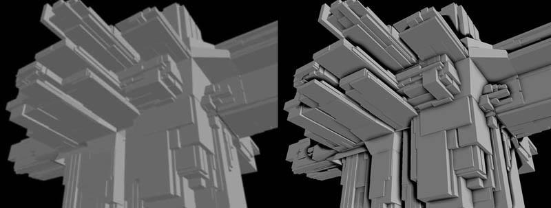 Screen Space Ambient Occlusion Blur depth buffer Subtract it from original depth buffer Scale and clamp