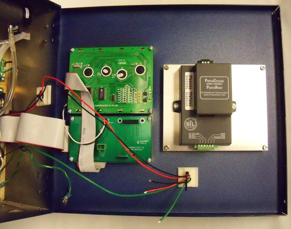 Bacnet protocol converter kit for use with bacharach multizone gas protonode mounted asfbconference2016 Images