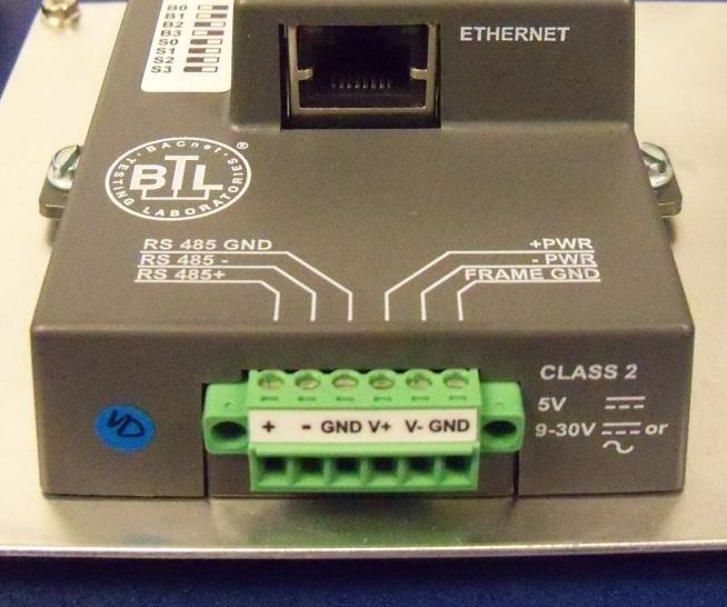 Bacnet protocol converter kit for use with bacharach multizone gas figure 9 power connections figure 10 asfbconference2016 Images