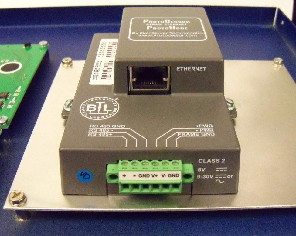 Bacnet protocol converter kit for use with bacharach multizone gas rs 485 network wiring the rs 485 bus should be wired in asfbconference2016 Images