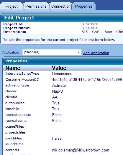 Yu may need t unlck the prject t be able t view the PROPERTIES Click n the PROPERTIES tab Check that the Prperty