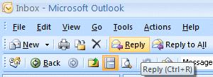 NCMail: Outlook 2007 Email User s Guide 12 Click the Editor Options button. The Editor Options Menu Screen (below will appear).