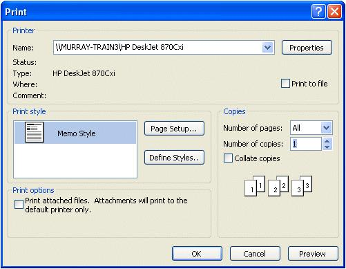 If you are in some other part of Outlook 2007 and do not see the New Mail Message button, you can always