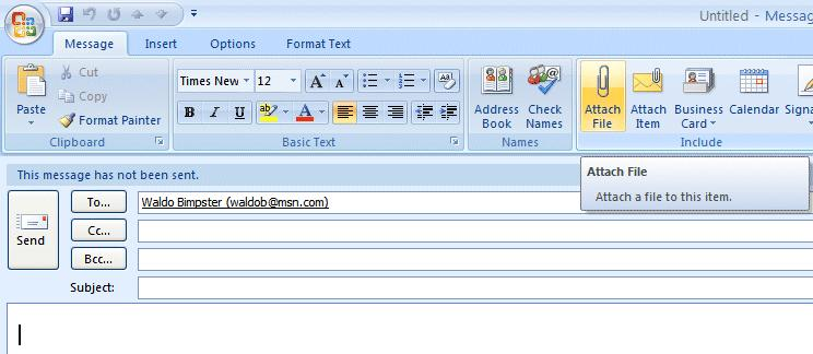 NCMail: Outlook 2007 Email User s Guide 33 When you delete an e-mail message in your Inbox, Sent Items, or a Personal Folder, this places the message in the Deleted Items trash can.