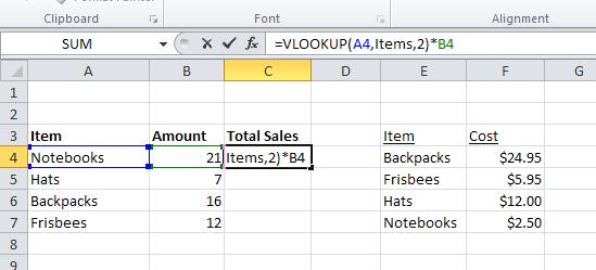 The VLOOKUP formula has 4 components: a. Lookup_value: The value to search in the first column of the table array. b. Table_array: Two or more columns of data.