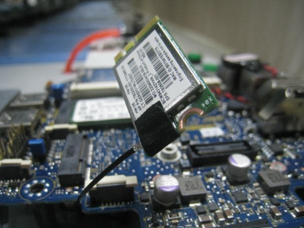 Photo17 Remove WLAN card and