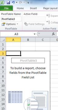 Select the table or cells that you want to be the source of the pivot table s data. 2. Click on the Insert tab and select the Pivot Table button 3.