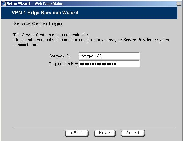 Select Specified IP and then in the Specified IP field, enter SmartCenter s IP address, as given to you by your system administrator. 5.