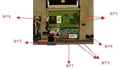 TOP CASE MODULE LAN / MODEM MODULE REMOVE Top Case Module The illustrations below show how to disassemble and remove the top case module of the notebook.
