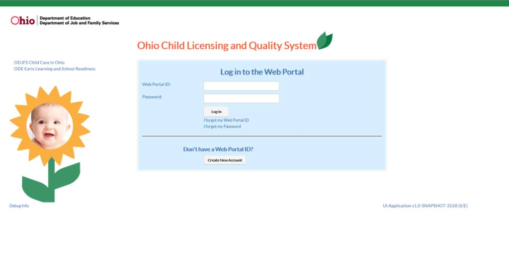 Create Web Portal User Account 1 If You Are An Odjfs Program And Do Not