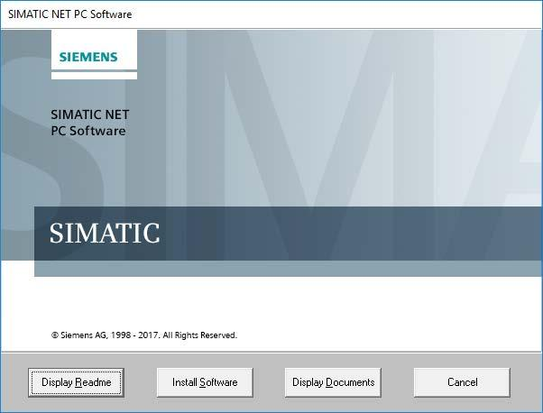 Installation of the SIMATIC NET PC software products 2.2 Procedure If this dialog box does not appear at the latest after 30 seconds, the autostart function of your computer is not activated.