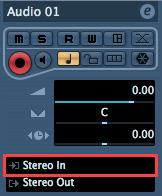 In the output section of that MIDI track, choose M50 Plug-In Editor which you started up in the VST Instruments window.