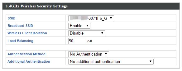 5. Go to Wireless Settings > 5GHz 11ac 11an and repeat steps 3 & 4 for the access point s 5GHz