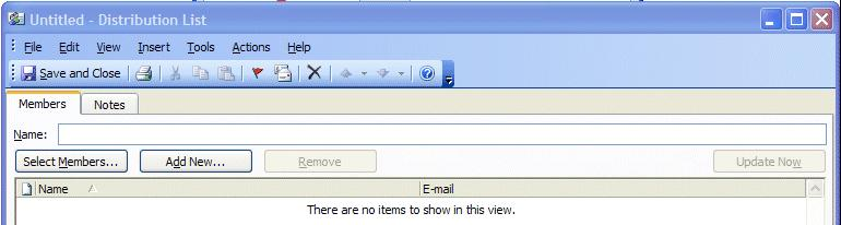 NCMail: Outlook 2003 Email User s Guide 23 When the Address Book screen appears, click-on the New Entry Calling card