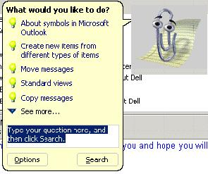 NCMail: Outlook 2003 Email User s Guide 3 The mail messages that you receive will be listed in the default chronological order.