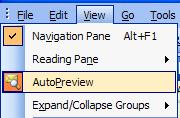 To do this you ll need to click-on View in the Menu Bar. When the drop down menu appears you ll see a selection called Auto Preview.