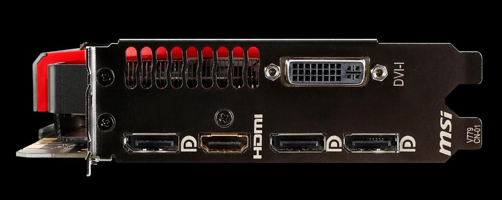 4K Enabled I/O Interface DL-DVI-I
