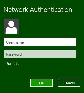 2.2 When the network is connected, the below screen will appear. Enter your username and password to login to the wireless network.