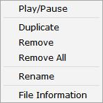 Output file name By default, the file will be saved with the same name as the original, however you can click the filename to change it.