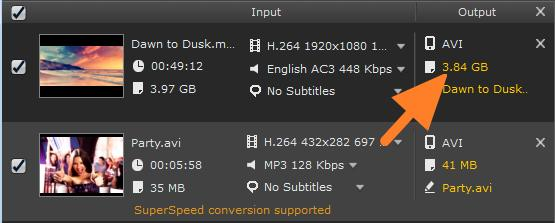 Reducing File Size Movavi Video Converter can help you not only quickly change the format of video or audio files, but also save disk space by compressing your files.