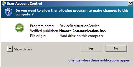Installing Device Registration Service How to install Device Registration Service