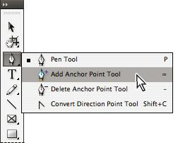 3. TOOLBOX CONT. Figure 3. Tools in InDesign. Some tools in the toolbox have additional tools linked to them.