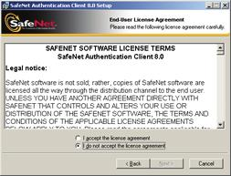 34 The End User License Agreement is displayed. 9.