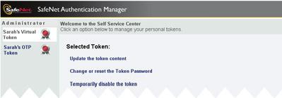 Completing Your Authentication Questionnaire 57 Note: If the details displayed are incorrect, you can change them by updating the token content.