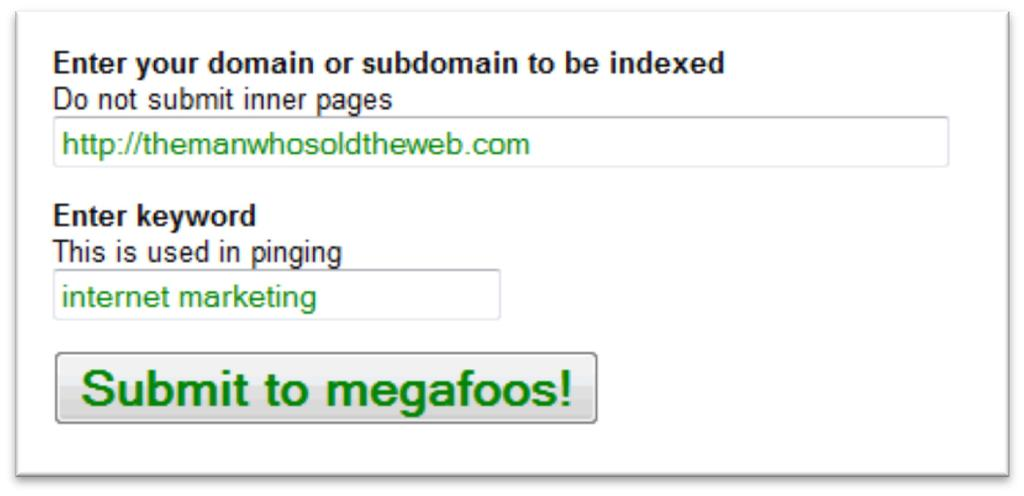 Rapid Google Indexer Get Your Domain Indexed Instantly Page 7 Here, let s see the script in action. The script is named megafoosubmission.