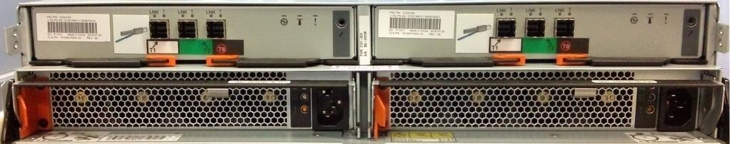 two power supplies, and 24 flash drive slots.