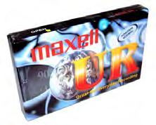 Blank Media AUDIO TAPE MAXELL 60 MIN Blank cassette.