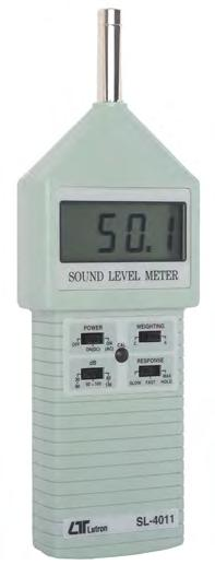 LASERCD SOUND LEVEL METER LUTRON DIGITAL MEASUREMENT This unit is designed to meet IEC651 type 2 testing standards.