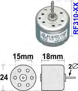 DVD & CD Parts Motor DVD & CD CD MOTORS - RF300 Low-Profile OEM Mabuchi motors as in CD/DVD Suit car audio, Mini-HiFi,
