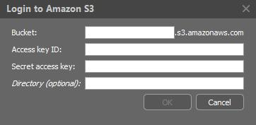 Amazon S3 If you have an account on Amazon S3, you can use it to store your videos.