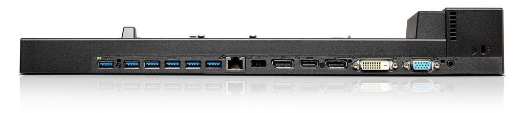 ThinkPad Workstation Dock - 40A50230US Bank 1 Bank 2 Bank 3 1 2 3 4 5 6 7 8 9 10 1 USB 3.