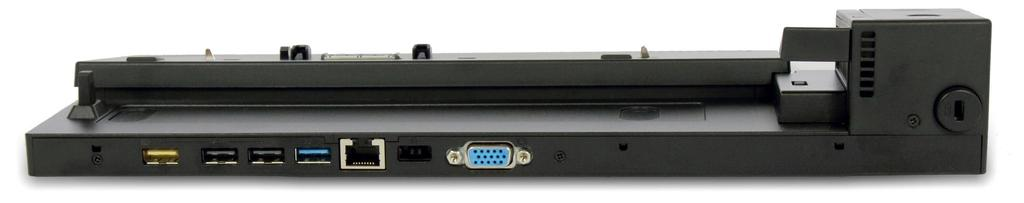ThinkPad Basic Dock - 40A00090US 1 2 3 4 5 6 7 1 USB 2.
