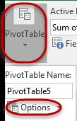 All formatting in a PivotTable must be applied to the data in the PivotTable.