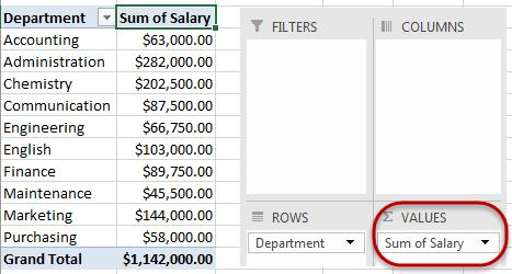Show Totals as a percentage When looking at data in a PivotTable, it may be useful to represent the data as not only a