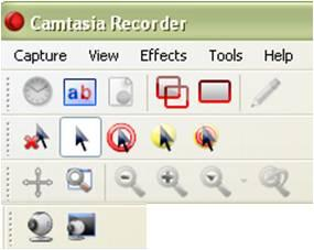 Next, adjust the volume of the recording using the slider in the center. 4. Click Select area to record gives you 3 choices: Full Screen select: Click your desktop.