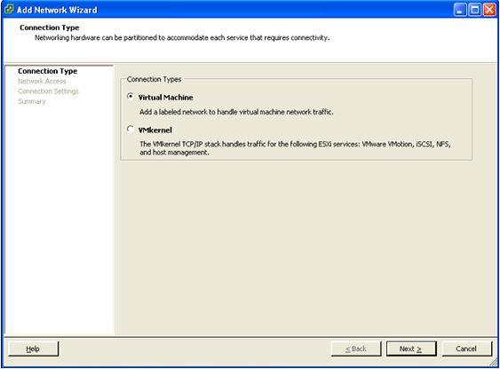 Installing and configuring VMware appliance 5. In the Networking section, click Properties... 6.