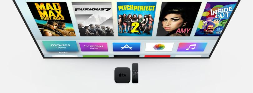 Apple TV The future of television is here. October 26, 205 TV is a major part of our lives. We gather together around our big screens to watch big shows and big events.