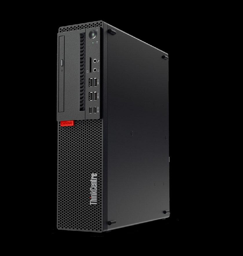 Standard Desktop THE THINKCENTRE M710s SMALL FORM FACTOR OFFERS ENHANCED SECURITY AND RELIABILITY FEATURES, PLUS ENERGY-SAVING CERTIFICATIONS THAT HELP SCHOOLS SAVE ON UTILITY COSTS.