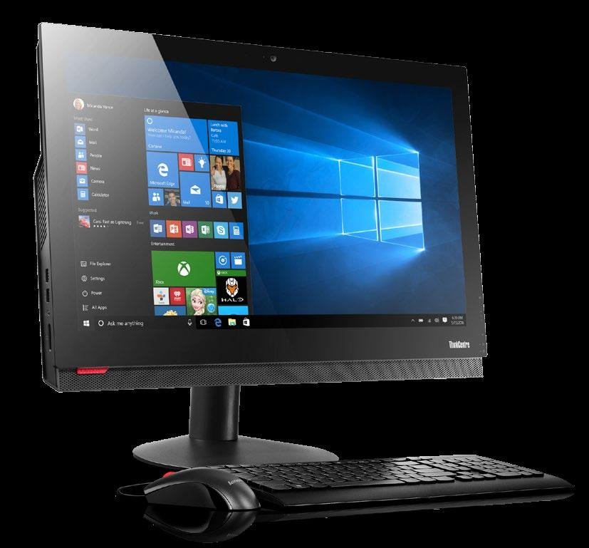 Touch Screen All-in-One PC THE THINKCENTRE M910z TOUCH IS A 23.