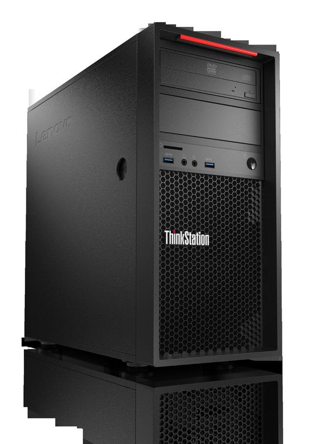 Performance Workstation THE THINKSTATION P320 TOWER WORKSTATION BOASTS ALL THE KEY PRODUCTIVITY FEATURES YOU NEED, INCLUDING PROFESSIONAL-GRADE GRAPHICS, BLAZING-FAST MEMORY, AND THE FASTEST STORAGE